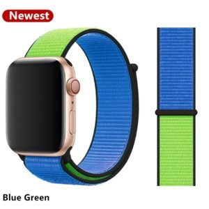 NEW[BAND] Blue Green Strap Loop For Apple Watch